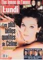 CELINE DION Le Lundi (1/23/99) CANADA Magazine