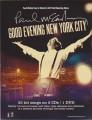 PAUL McCARTNEY Good Evening New York City USA Promo Sticker