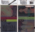 MADONNA Blond Ambition Tour JAPAN Cassette Tape Index Cards
