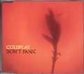 COLDPLAY Don't Panic EU CD5 w/Live Tracks