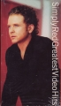 SIMPLY RED Greatest Video Hits USA VHS Video