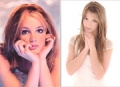BRITNEY SPEARS Set Of 2 USA Postcards