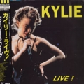 KYLIE MINOGUE Live! JAPAN Laserdisc w/15 Tracks RARE