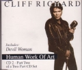 CLIFF RICHARD Human Work Of Art UK CD5