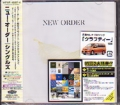 NEW ORDER Singles JAPAN 2CD w/Bonus Tracks