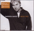 DARREN HAYES I Miss You UK CD5 w/Video