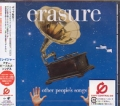 ERASURE Other People's Songs JAPAN CD w/Bonus Tracks
