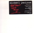 MICHAEL JACKSON They Don't Care About Us USA Double 12