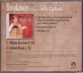 KELLY CLARKSON Breakaway USA CD5 Promo w/2 Tracks