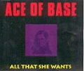 ACE OF BASE All That She Wants UK CD5 w/4 Mixes