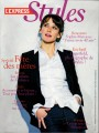 SOPHIE MARCEAU L'Express Styles (5/28-6/3/09) FRANCE Magazine