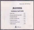MADONNA Human Nature USA CD5 Promo w/7 Versions