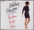 WHITNEY HOUSTON My Name Is Not Susan GERMANY CD5