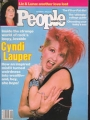 CYNDI LAUPER People (9/17/84) USA Magazine