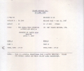 U2 The Joshua Tree Interview: Words And Music USA LP Test Pressing