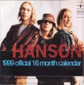 HANSON 1999 UK Official 16 Month Calendar