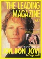 JON BON JOVI The Leading Magazine Vol.1 JAPAN Gatefold Movie Flyer