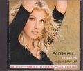 FAITH HILL Breathe JAPAN CD Promo Only Album Sampler
