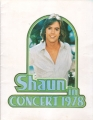 SHAUN CASSIDY 1978 USA Tour Program