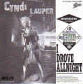CYNDI LAUPER I Drove All Night JAPAN 7