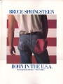 BRUCE SPRINGSTEEN Born In The U.S.A. USA Piano/Vocal/Chords Book