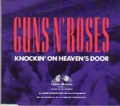 GUNS N' ROSES Knockin' On Heaven's Door UK CD5