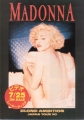 MADONNA Blond Ambition JAPAN Promo Flyer!!