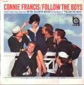 CONNIE FRANCIS Follow The Boys JAPAN LP