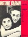 JOHN LENNON Instant Karma! USA Sheet Music