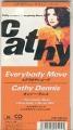 CATHY DENNIS Everybody Move JAPAN CD3 Promo