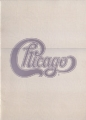 CHICAGO 1989 JAPAN Tour Program