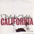BELINDA CARLISLE California HOLLAND CD5 w/2 Tracks