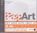 PET SHOP BOYS Pop Art Greatest Hits FRANCE CD