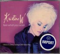 KRISTENE W Feel What You Want UK CD5 w/3 Mixes