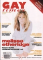 MELISSA ETHERIDGE Gay Times (3/96) UK Magazine