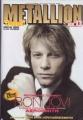 BON JOVI Metallion (5/01) JAPAN Magazine