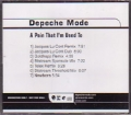 DEPECHE MODE A Pain That I'm Used To USA CD5 Promo w/7 Tracks
