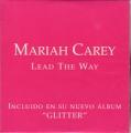 MARIAH CAREY Lead The Way SPAIN CD5 Promo