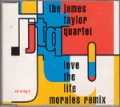 THE JAMES TAYLOR QUARTET Love The Fire UK CD5 w/Mixes