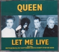 QUEEN Let Me Live UK CD5