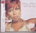 MARY J. BLIGE Give Me You JAPAN CD5