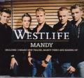 WESTLIFE Mandy UK CD5 w/5 Tracks including Video