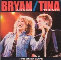 BRYAN ADAMS & TINA TURNER It's Only Love UK 7