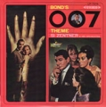 JAMES BOND 007 Bond's 007 Theme JAPAN LP w/Red Vinyl