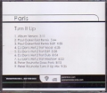 PARIS HILTON Turn It Up USA CD5 Promo w/9 Mixes