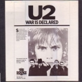 U2 War Is Declared USA 2LP Radio Show