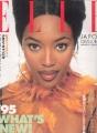 NAOMI CAMPBELL Elle 1/95 JAPAN Mag