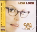 LISA LOEB Cake And Pie JAPAN CD w/ Bonus Track