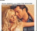RICKY MARTIN & CHRISTINA AGUILERA Nobody Wants To Be Lonely UK CD5 Part 1 w/Video