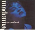 MADONNA Open Your Heart GERMANY CD5 w/Extended Version